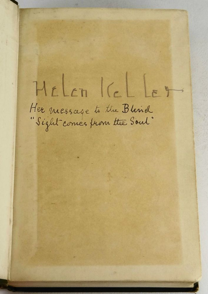 Essay on helen keller