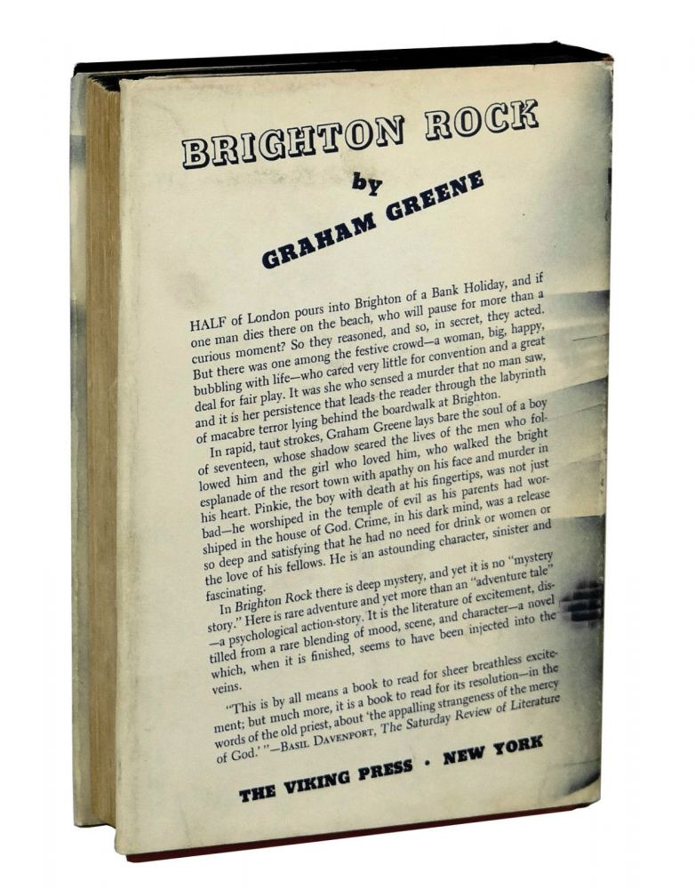a literary analysis of the book brighton rock by graham greene Stories about graham greene's life and a burnt-out case, a sort of life, brighton rock, the end of the affair literary analysis the third man.