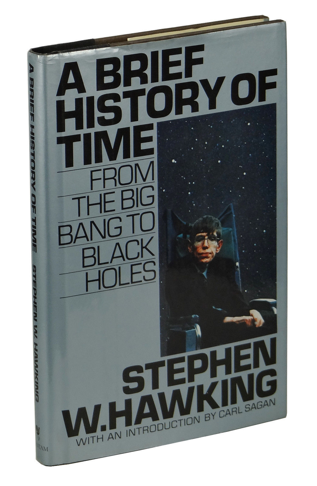 A Brief History Of Time From The Big Bang To Black Holes By Stephen Hawking On Burnside Rare Books