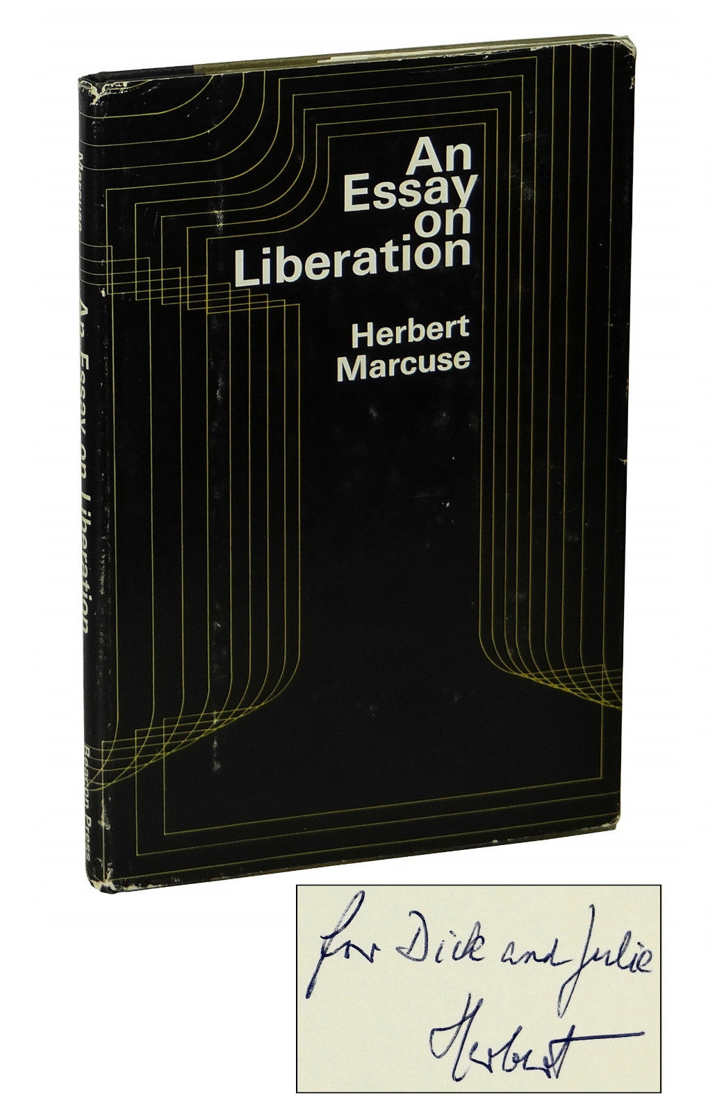 an essay on liberation herbert marcuse first edition an essay on liberation