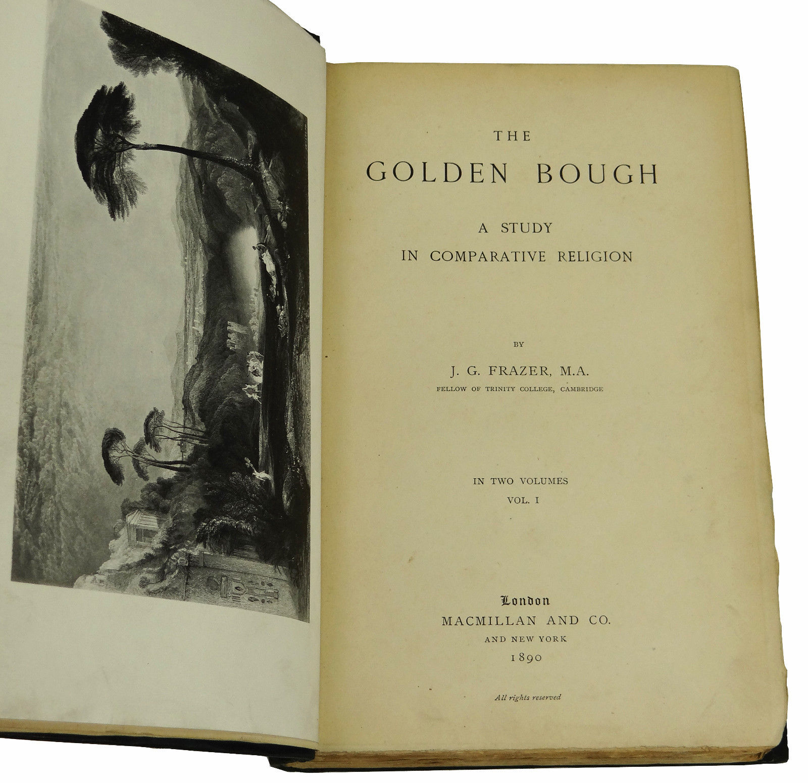 Risultati immagini per frazer golden bough first edition