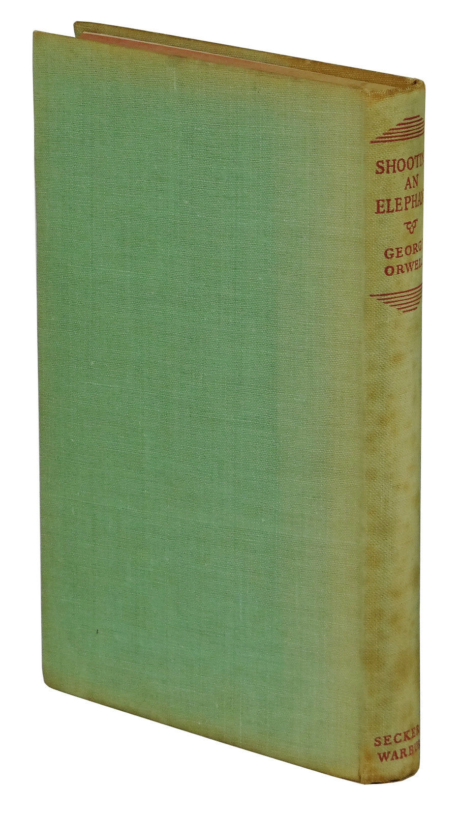 shooting an elephant and other essays george orwell first edition shooting an elephant and other essays orwell george