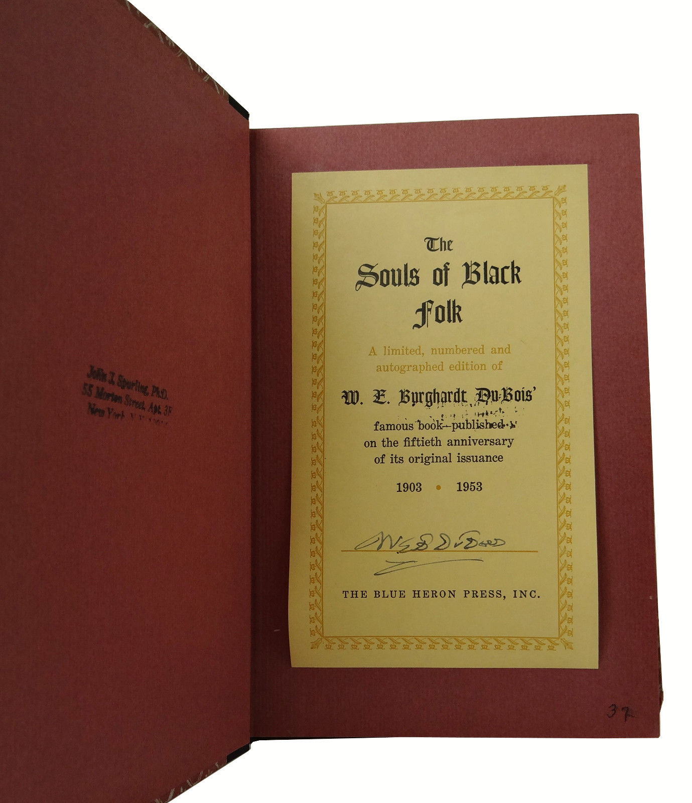 The Souls Of Black Folk Essays And Sketches W E B Du Bois   The Souls Of Black Folk Essays And Sketches
