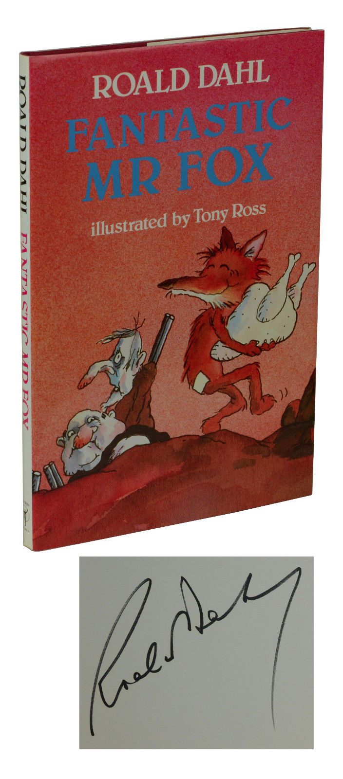Fantastic Mr Fox Roald Dahl Reprint
