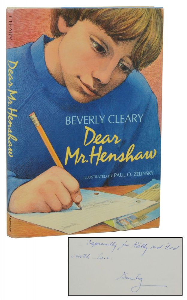 Dear Mr. Henshaw. Beverly Cleary.