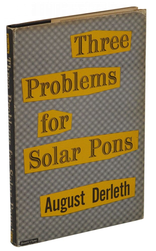 Three Problems for Solar Pons. August Derleth.