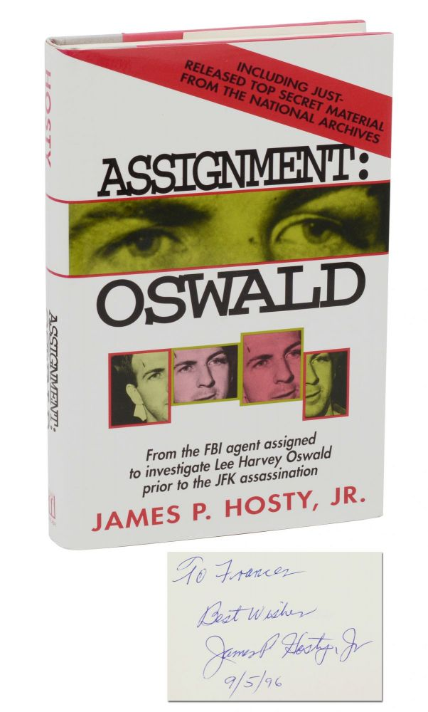 Assignment: Oswald. James P. Hosty, Thomas Hosty.