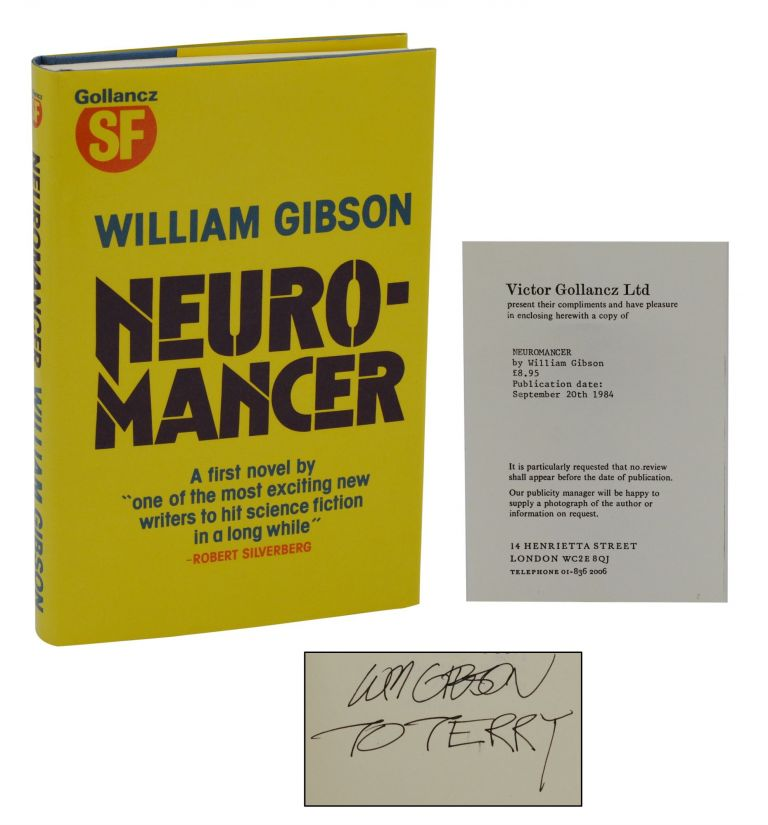 Neuromancer. William Gibson.