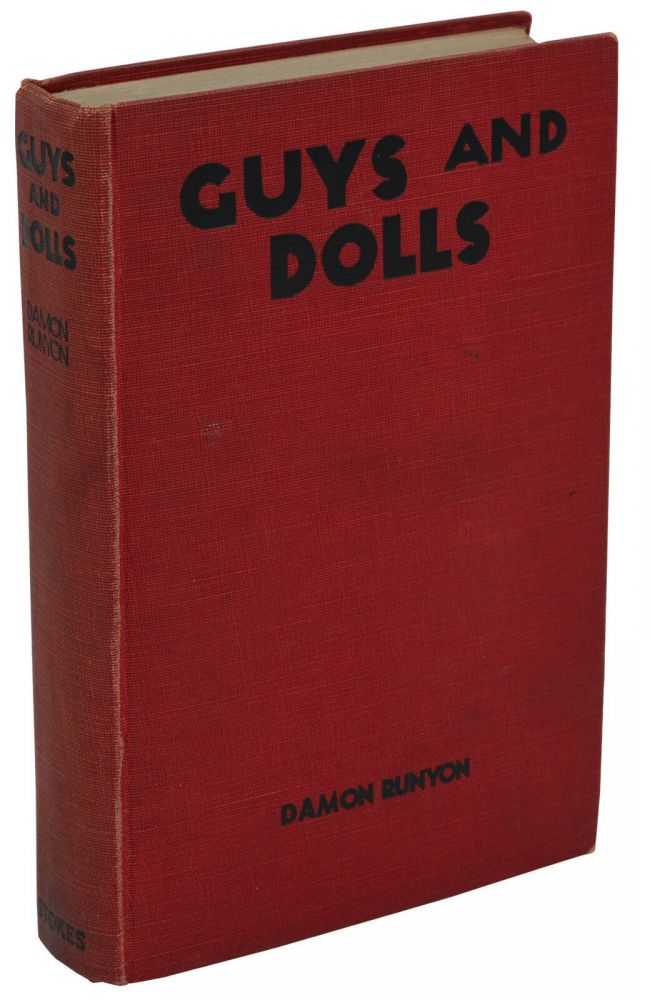 Guys and Dolls. Damon Runyon.