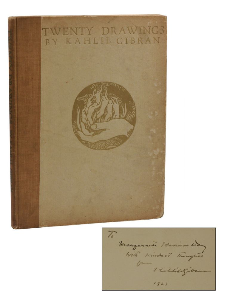 Twenty Drawings. Kahlil Gibran.