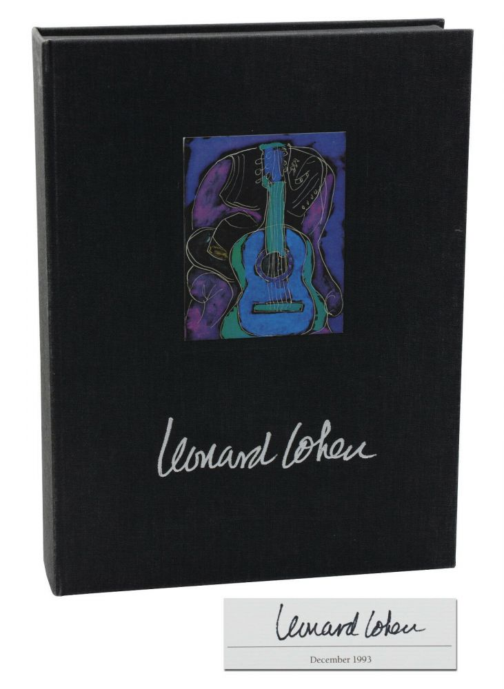 Stranger Music: Selected Poems and Songs. Leonard Cohen.