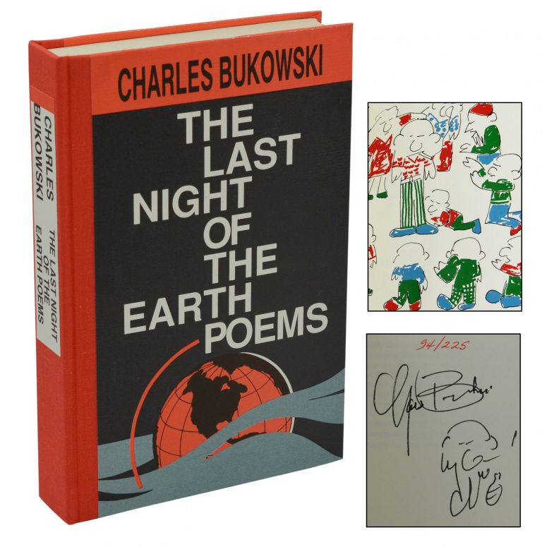 The Last Night of the Earth Poems. Charles Bukowski.