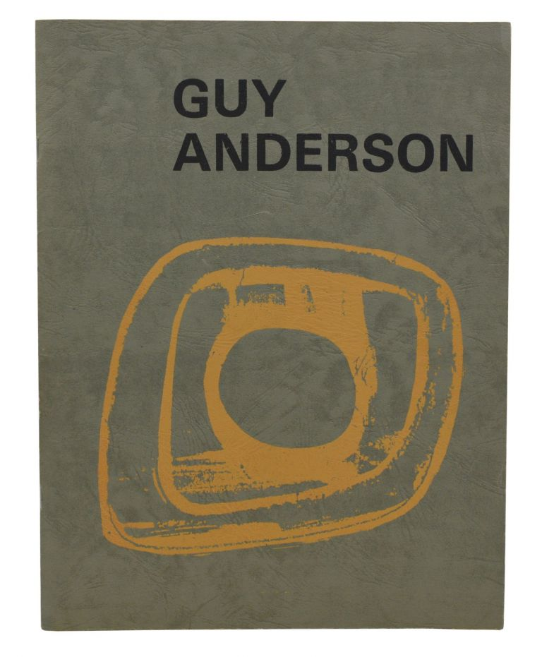 Guy Anderson. Tom Robbins, Bob Peterson, Photographs.