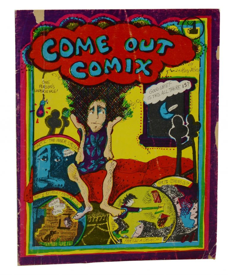 Come Out Comix. Mary Wings.