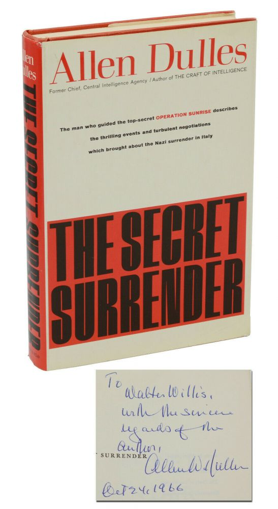 The Secret Surrender. Allen Dulles.