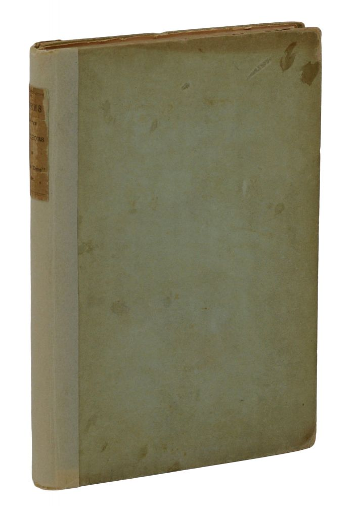 Poems by Currer, Ellis and Acton Bell. Charlotte Bronte, Emily, Anne, Ellis Currer, Acton Bell.