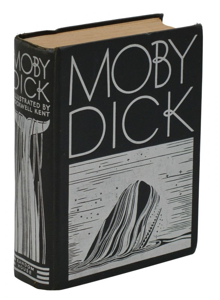 Moby Dick. Herman Melville, Rockwell Kent, Illustrations.