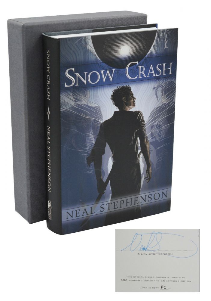 Snow Crash. Neal Stephenson.
