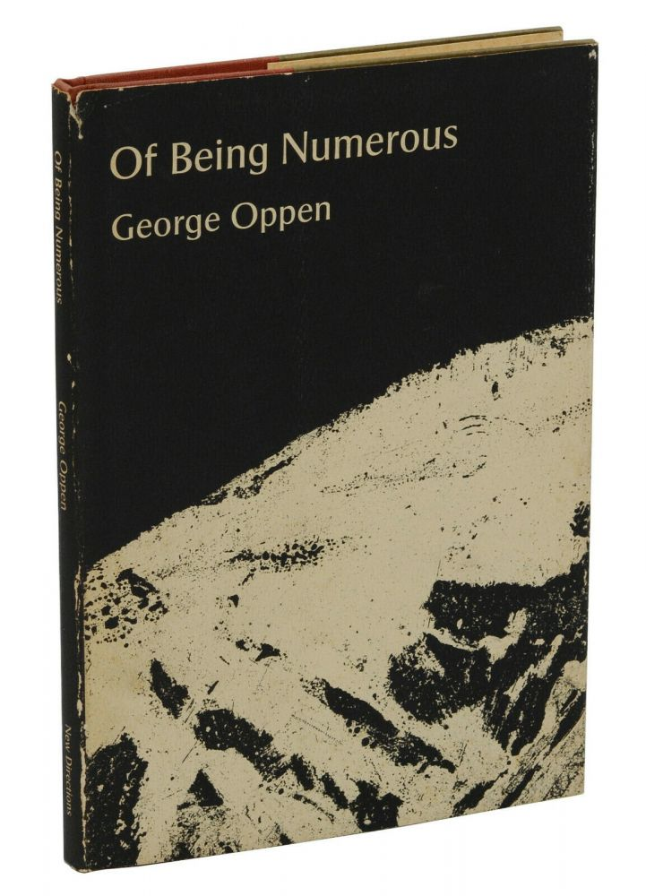Of Being Numerous. George Oppen.
