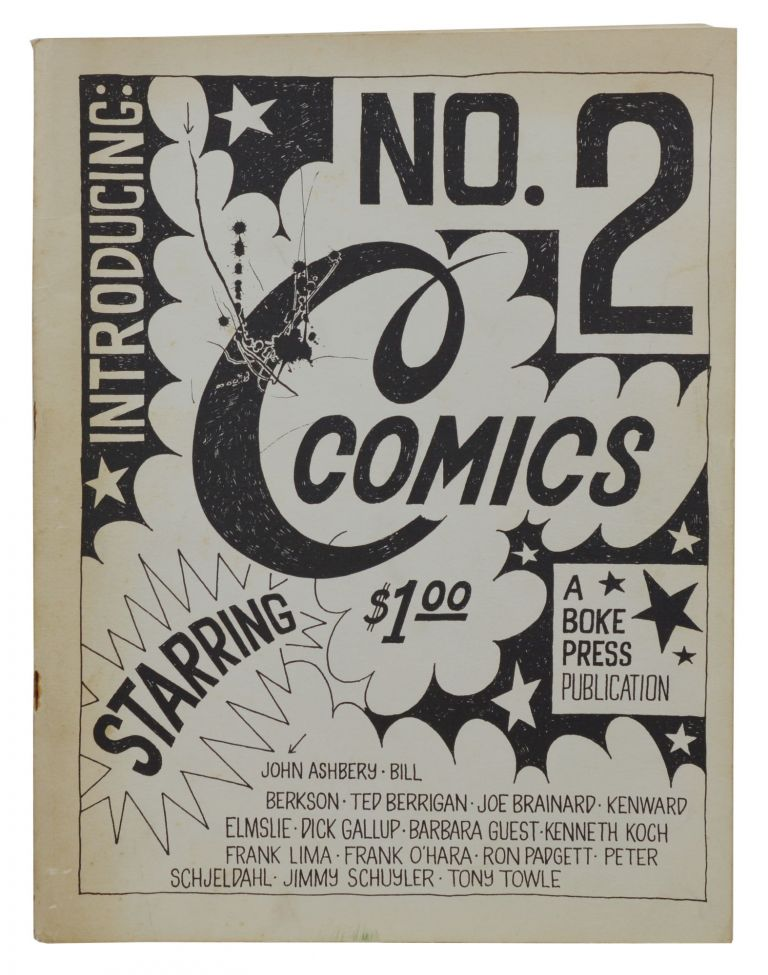 C Comics No. 2. Joe Brainard, Ted Berrigan, John Ashbery, Frank O'Hara.