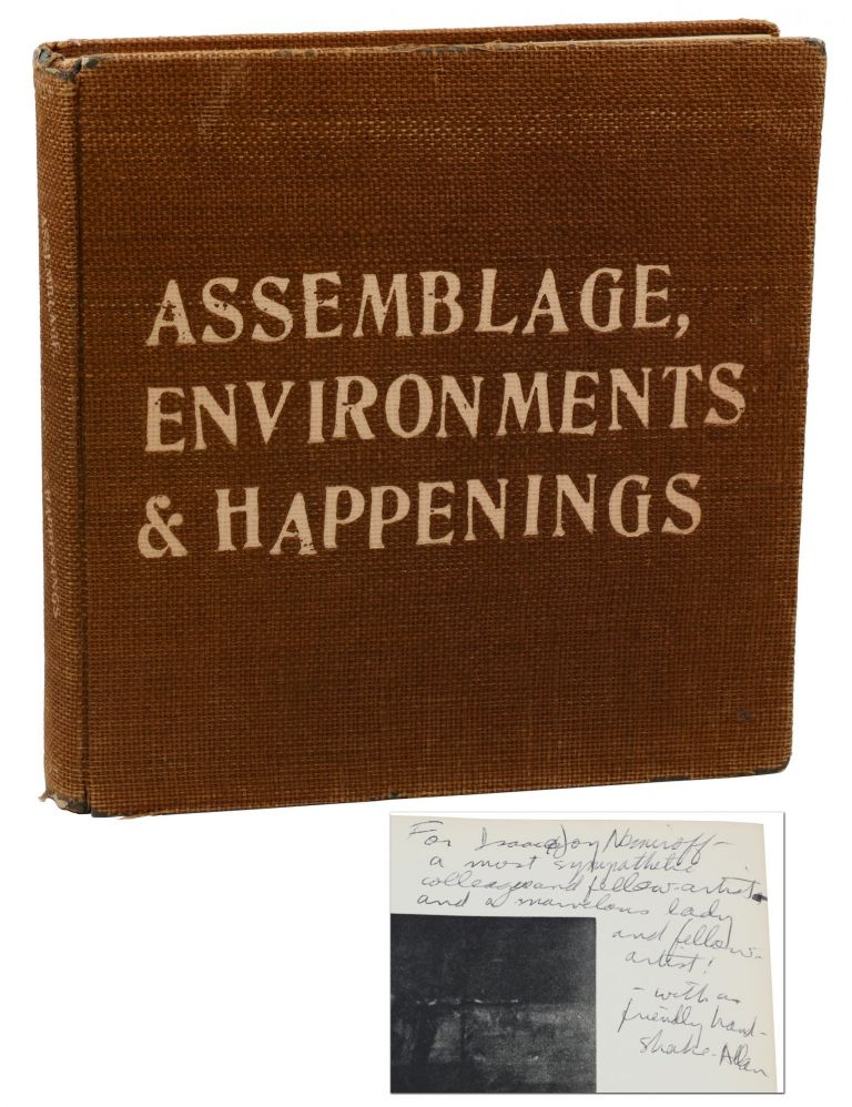 Assemblage, Environments & Happenings. Allan Kaprow.