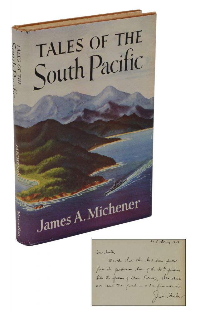 Tales of the South Pacific. James Michener.