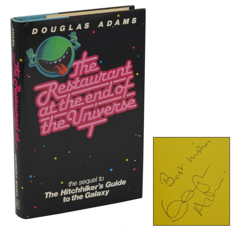 The Restaurant at the End of the Universe. Douglas Adams.