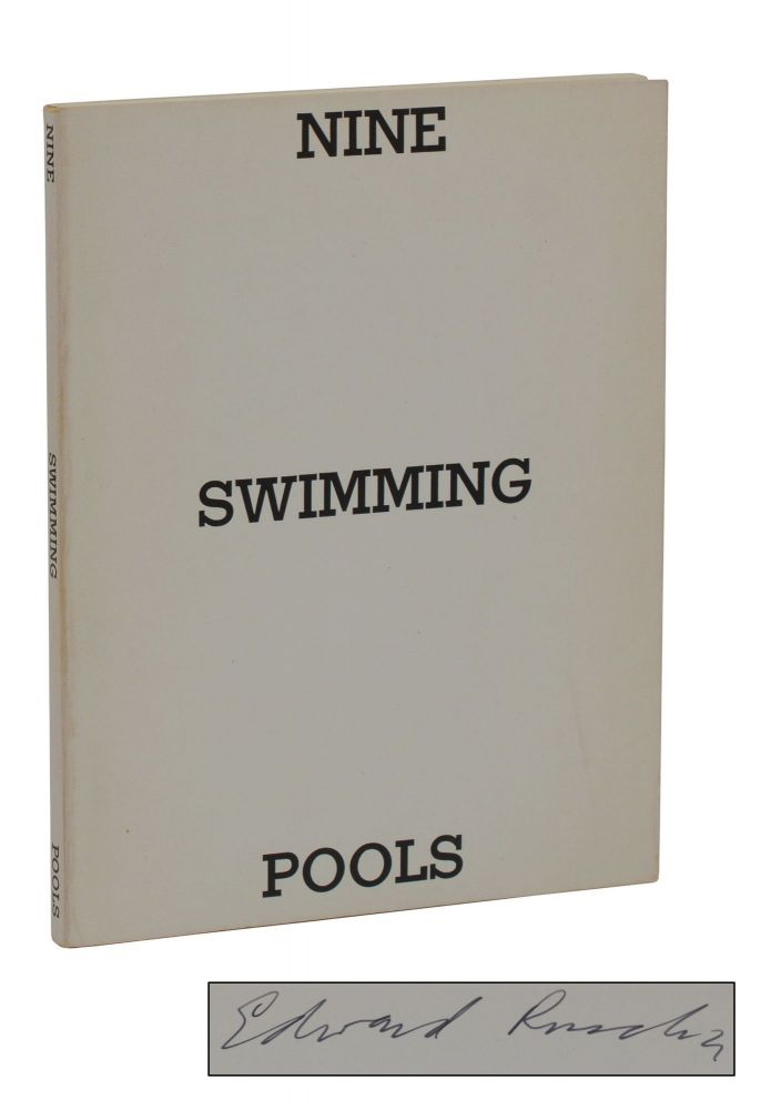 Nine Swimming Pools and a Broken Glass. Edward Ruscha.