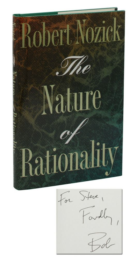 The Nature of Rationality. Robert Nozick, Stephen Jay Gould.