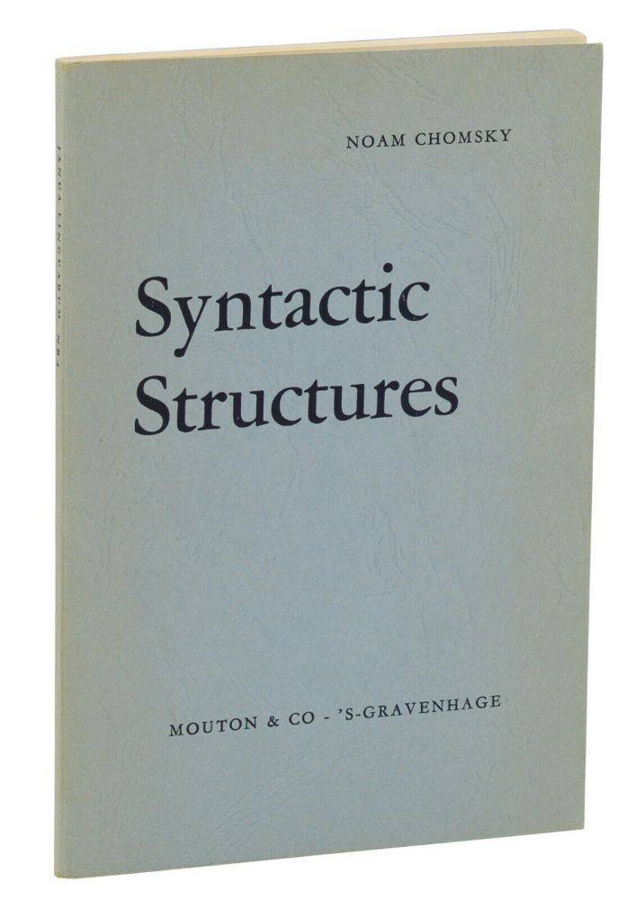 Syntactic Structures. Noam Chomsky.