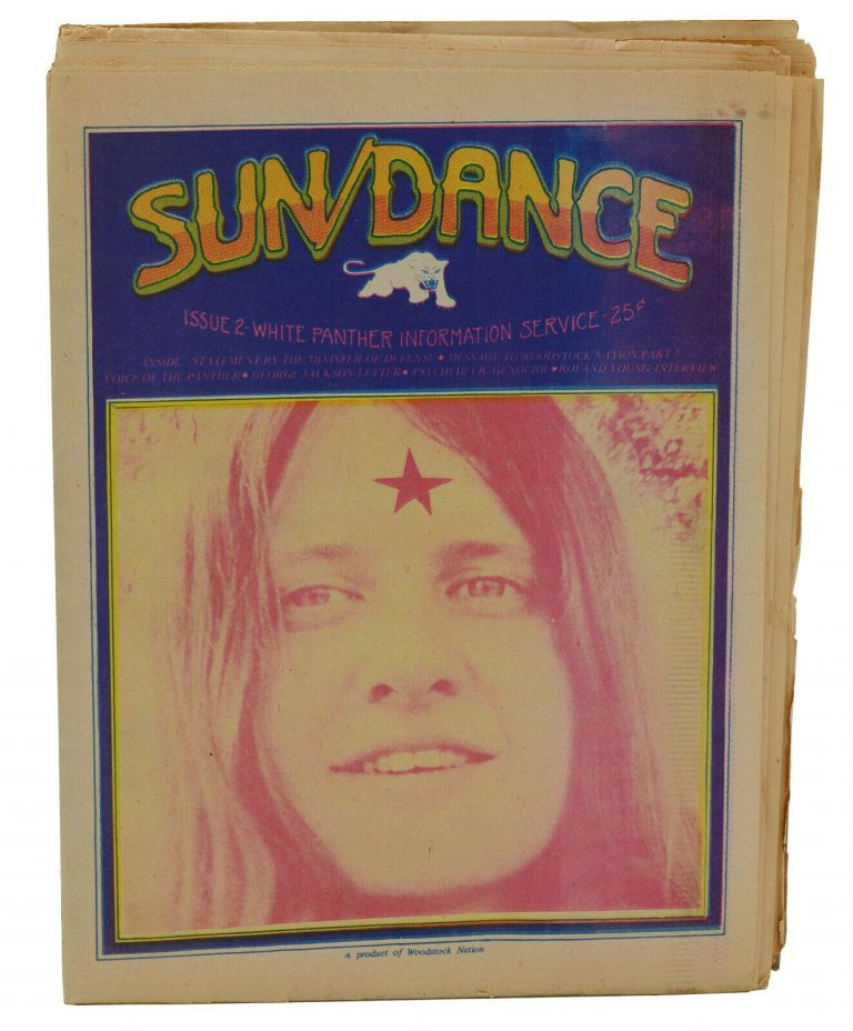 Sun/Dance, Issue #2, October 1970. White Panther Information Service, John Sinclair.