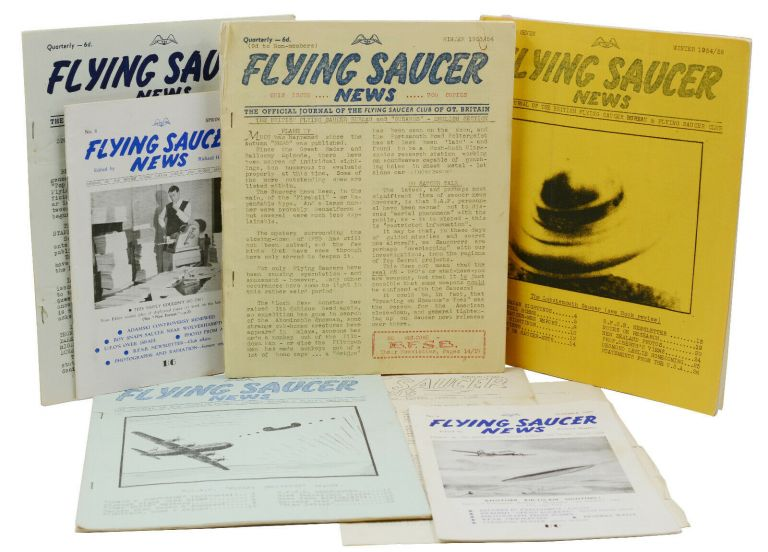 Flying Saucer News: The Official Journal of The Flying Saucer Club of Gt. Britain (Seven Issues Plus Supplement). Richard Hughes.
