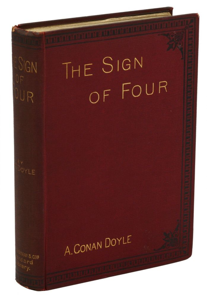 The Sign of Four. Arthur Conan Doyle, Charles Kerr, Illustrations.