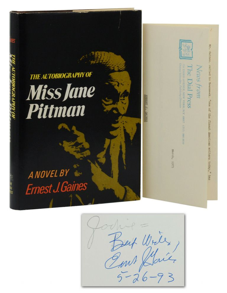 The Autobiography of Miss Jane Pittman. Ernest Gaines.