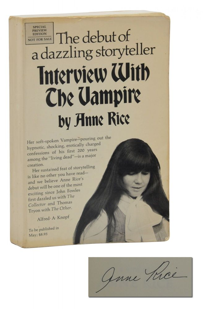 Interview with a Vampire. Anne Rice.