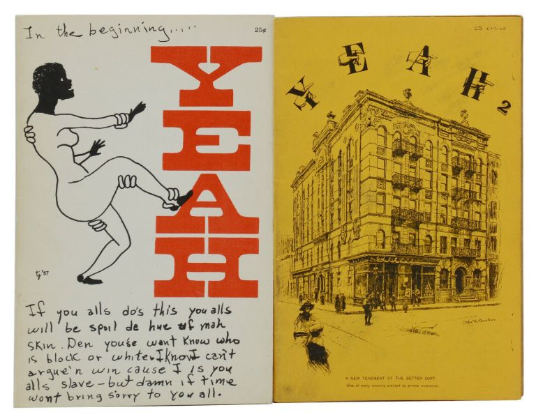 YEAH: A Satiric Excursion Published At Will (Issues 1 & 2). Tuli Kupferberg.