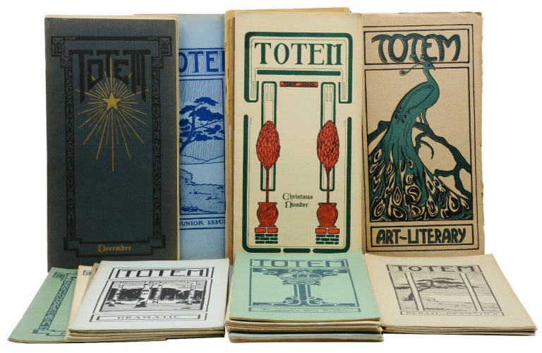 Totem (26 Issues of the Lincoln High School, Seattle, Washington Publication). Don Peeples, Russel Peterson, Matthew O'Connor, Clark Squire.