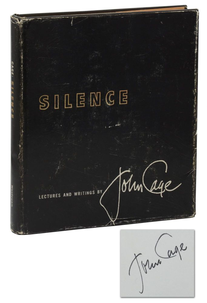 Silence: Lectures and Writings (Ihab Hassan's Copy). John Cage.