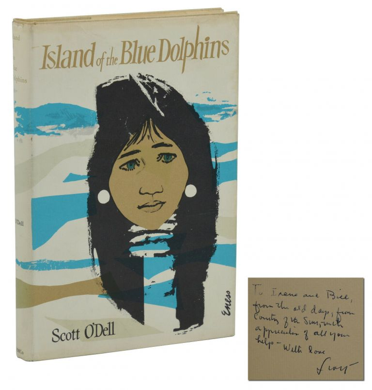 Island Of The Blue Dolphins. Scott O'Dell.