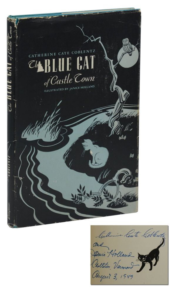 The Blue Cat of Castle Town. Catherine Cate Coblentz, Janice Holland, Illustrations.