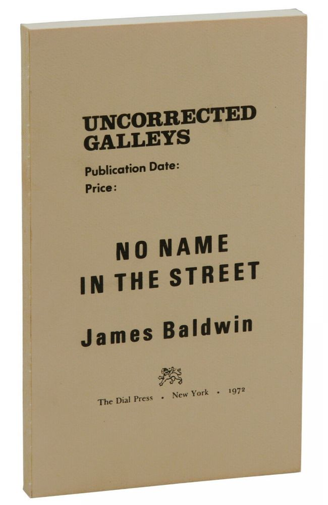 No Name in the Street. James Baldwin.