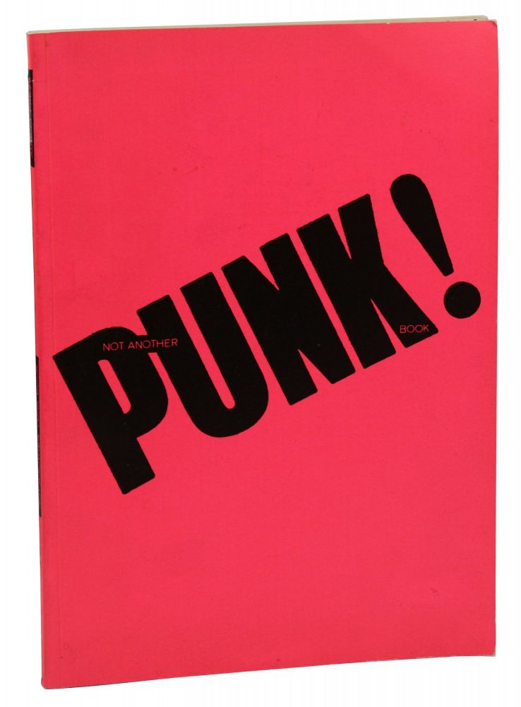 Not Another PUNK! Book. Isabelle Anscombe.