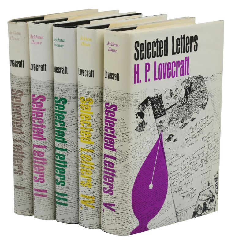 Selected Letters I.-V. H. P. Lovecraft.