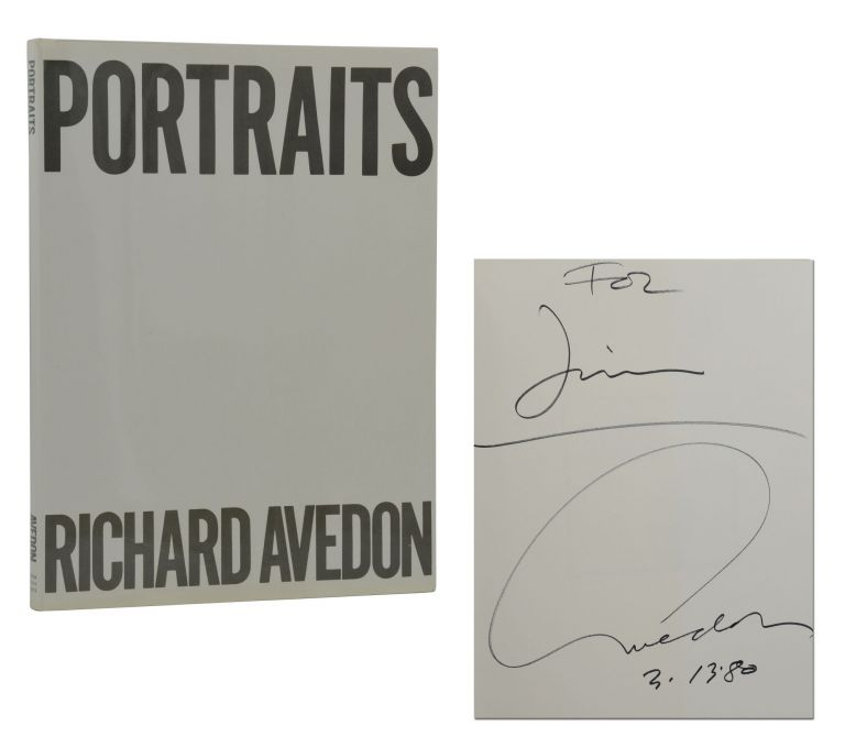 Portraits. Richard Avedon.
