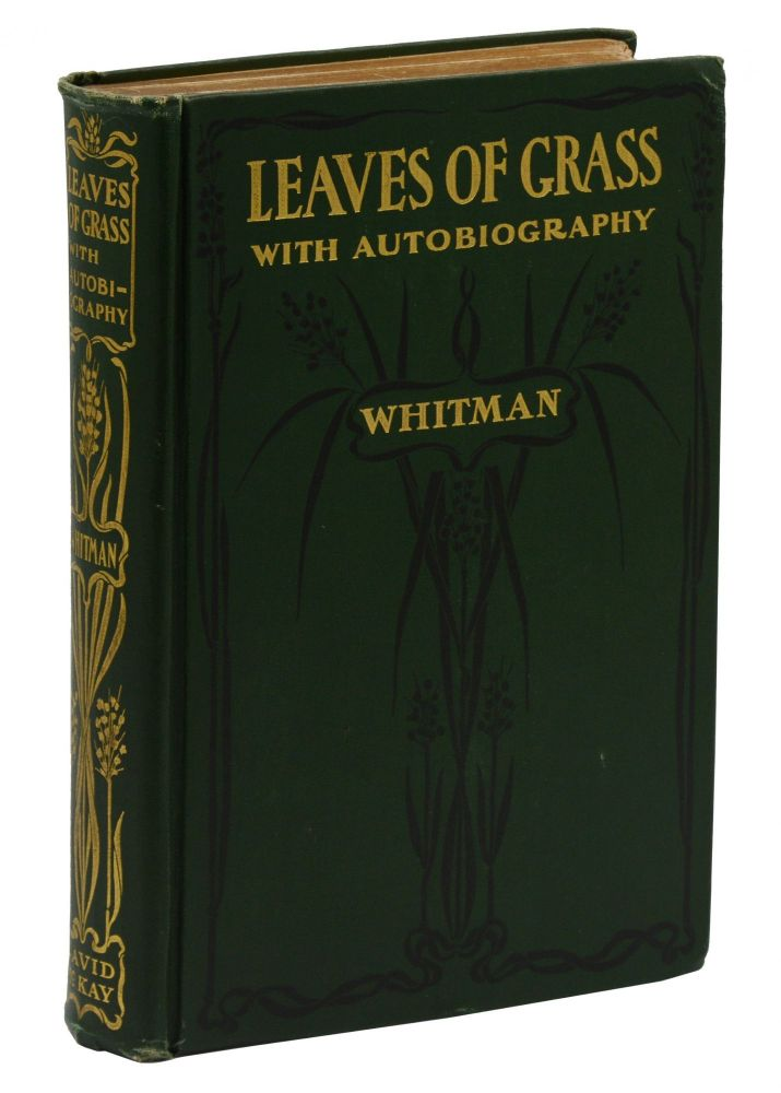 Leaves of Grass with Autobiography. Walt Whitman.
