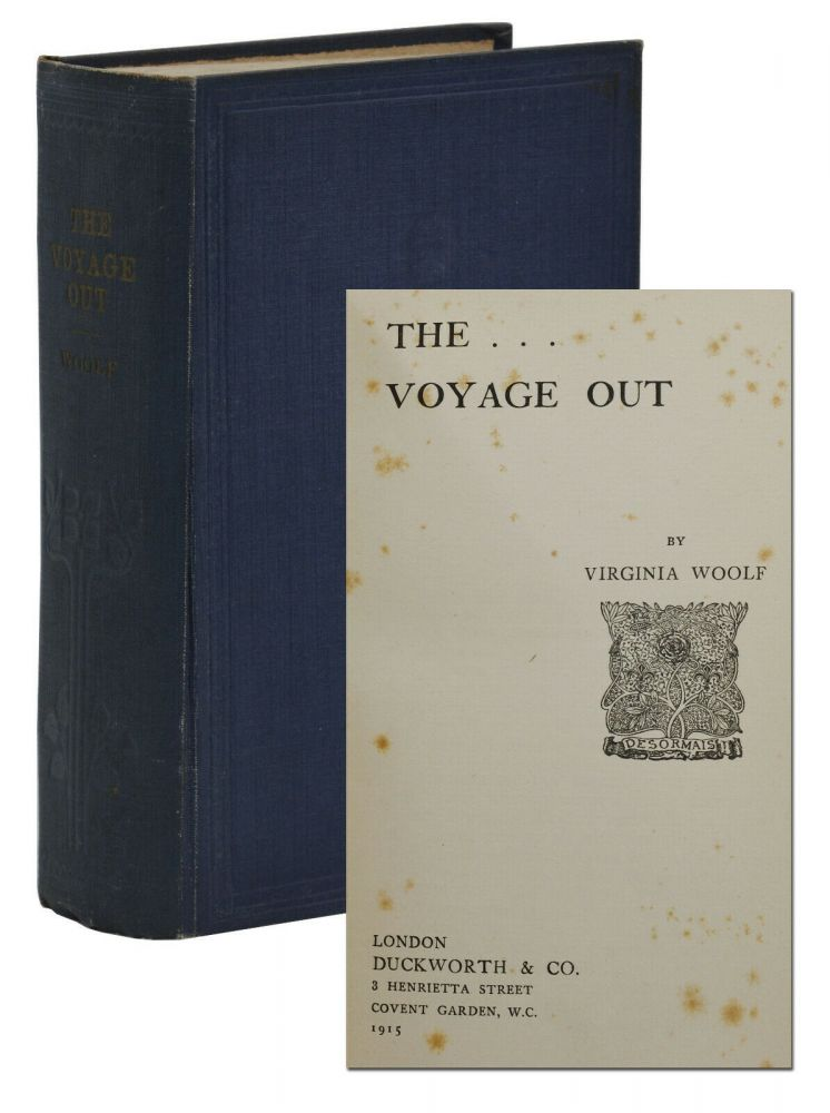 The Voyage Out. Virginia Woolf.