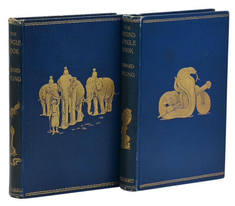 The Jungle Book [with] The Second Jungle Book. Rudyard Kipling.