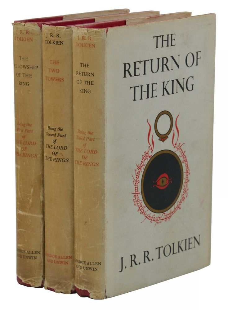 The Lord of the Rings: The Fellowship of the Ring, The Two Towers, The Return of the King. J. R. R. Tolkien.