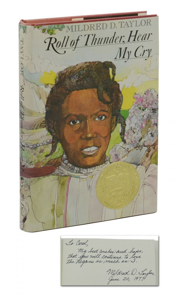 Roll of Thunder, Hear My Cry. Mildred D. Taylor, Jerry Pinkney, Illustrations.