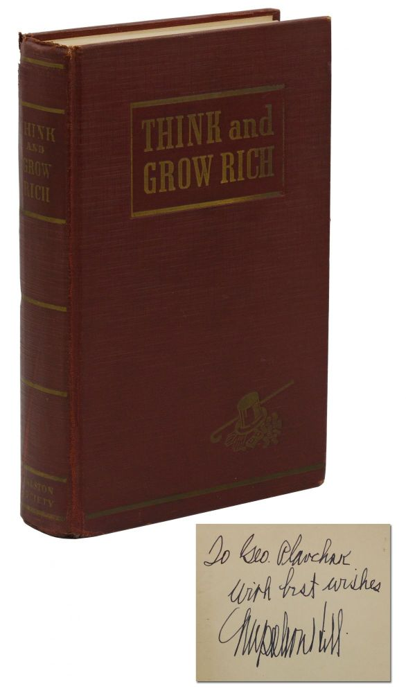Think and Grow Rich. Napoleon Hill.